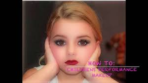 child pageant makeup