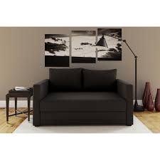 pull out loveseat sleeper. Convertible Loveseat Sleeper Chair Modern Pull Out Couch Sofa Bed Black Linen N