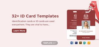 Business Id Template 32 Id Card Templates Word Psd Ai Pages Free