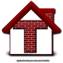 Talvez o aspecto mais notório da arquitetura seja sua pele. Alphabets By Monica Michielin Alfabeto Casa Tijolinhos Vermelhos Red Bricks Alphabet 1 Corintios 6 19 Numbers Font Red Bricks Alphabet