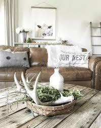deer antler decor living room