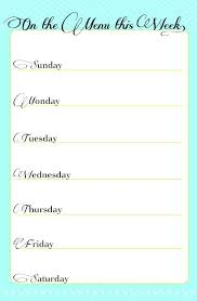 Free Menu Calendar Format Download Template Monthly Meal Sample ...