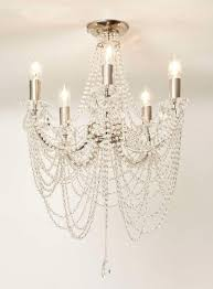 helena spiral chandelier chrome flush chandelier bhs new salon bhs