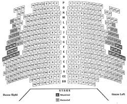 Stage 42 Seating Chart Olney Theatre Historic Stage Seating Chart Theatre In Dc