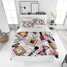 dimica girly decor full size sheet set