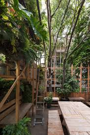 essay manada the scaffold binds interior and exterior connects levels is solidified where privacy is needed and remains as a skeleton when pursuing transparency