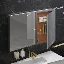 Mirrored bathroom wall cabinet FRACTAL Sonia Bath