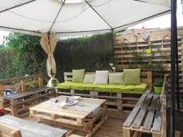 outdoor furniture made with pallets. patio furniture made of whole pallets outdoor with l
