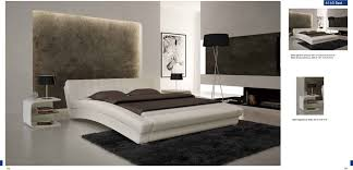 stunning contemporary bedroom furniture ideas with king white leather bed plus white nightstand and black tripod floor lamp bedroom contemporary furniture contemporary queen bedroom furniture