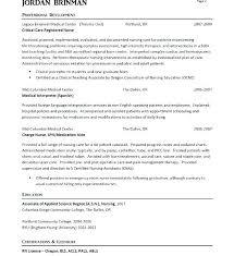 Resume Sample Nurse Sample Er Nurse Resume Er Nurse Job Description