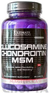 Спортивное питание ultimate nutrition glucosamine chondroitin msm препарат для суставов отзывы