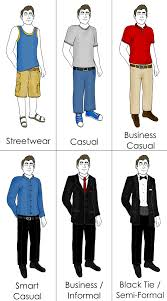 An Example Of A More Detailed Dress Code