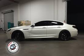 Coupe Series bmw gran coupe m6 : BMW M6 Gran Coupe Wrapped in 3M Satin Pearl White | Wrap Bullys