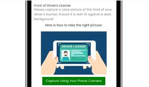 license on a smartphone