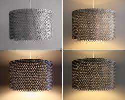 large drum pendant lighting. Soda Can Tab Large Drum Shade The R\u0027s Blog Pendant Light Uk Fixture Lamp Lighting H