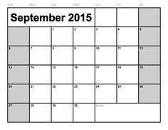 blank calendar 2015 september 2015 calendar template september 2015 calendar monthly