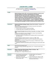 Personal Branding Statement Resume Examples