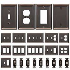 switch plate covers. Plain Plate Image Is Loading BronzeWallSwitchPlateToggleOutletCoverRocker With Switch Plate Covers C