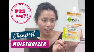 Garnier Light Moisturizer Review Review Garnier Light Complete Serum Cream Cheapest Moisturizer