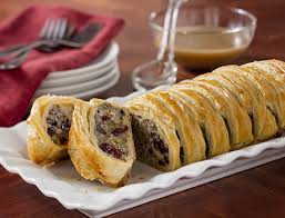 sausage cranberries stuffing pastry pepperidge farm