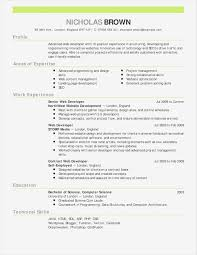Computer Science Resume Example Beautiful Objectives For A