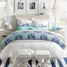 deco medallion duvet cover sham sims interiors bedrooms intended for blue twin prepare 17