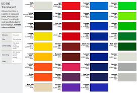 Avery Graphics Vinyl Color Chart 2019