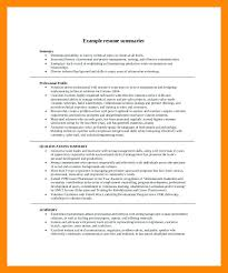 Summary Examples For Resume Best Of Resume Overview Samples Resume Summaries Examples Resume Statement