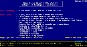 Cobol Structure Chart Sample Session