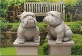 bulldog statues bulldog statue