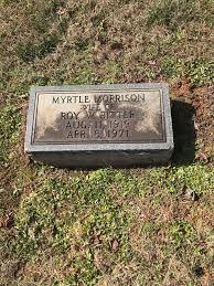 Myrtle Morrison Ritter (1919-1971) - Find A Grave Memorial
