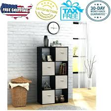 8 cube organizer mainstays 8 cube organizer storage shelf bookcase cabinet home furniture black closetmaid 8