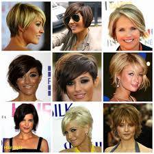 Short Haircuts For Fat Faces And Double Chins Gallery Short