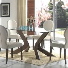 glass top dining tables round glass top dining tables with wood base interior ideas exciting table