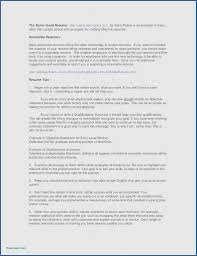 Highlights Of Qualifications Resume Examples