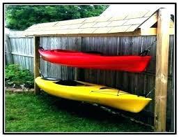 outdoor kayak storage rack outdoor kayak rack kayak rack for garage kayak storage racks outdoor kayak