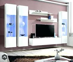 Modern Wall Units For Living Room Uk 3 Unit Storage High Gloss Black