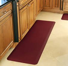 Rubber Mats For Kitchen Floor Kitchen Astounding Rubber Mats For Kitchen Colored In Adorable Red