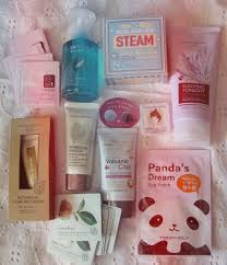 korean cosmetics haul