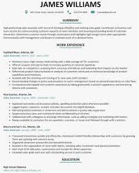 22 Retail Resume Sample Free Templates Best Resume Templates