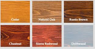 Armstrong Cove Base Color Chart Oil Based Wood Stain Semi Transparent Wood Stain Colors