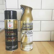 Design Master Gold Spray Paint Touches Of Gold And Favorite Spray Paint Nesting With Grace