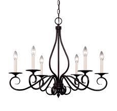 vintage dark brown chandelier