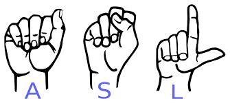 Indian Sign Language Chart American Sign Language Wikipedia