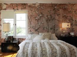 bedroom designs wallpaper. Beautiful Bedroom Flowers Strewn On Wall Bedroom  In Bedroom Designs Wallpaper