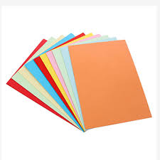 New Arrival 100 Sheets Pack Double Sided Colored Paper Assorted