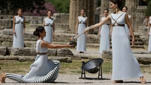 flame lighting olympics. ancient olympia set for olympic flame lighting ceremony, torch relay start (photos) olympics