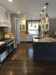 Dark Grey Wood Floors With White Cabinets Flisol Home