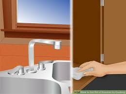 image titled get rid of roaches by caulking step 3