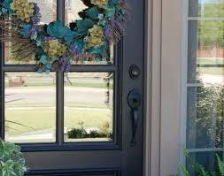 turquoise front doordoor  Amazing New Front Door Before And After Our New Front Door
